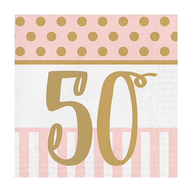 servietten 50 geburtstag ladylike 20er pack g nstig. Black Bedroom Furniture Sets. Home Design Ideas