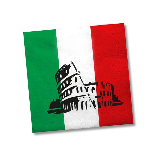 servietten italien rom 20er pack g nstig kaufen bei. Black Bedroom Furniture Sets. Home Design Ideas