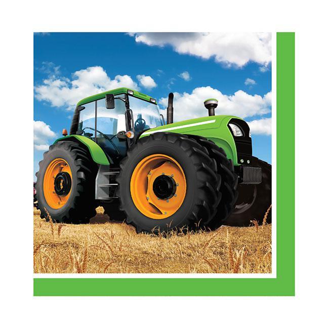 servietten traktor time 16er pack g nstig kaufen bei. Black Bedroom Furniture Sets. Home Design Ideas