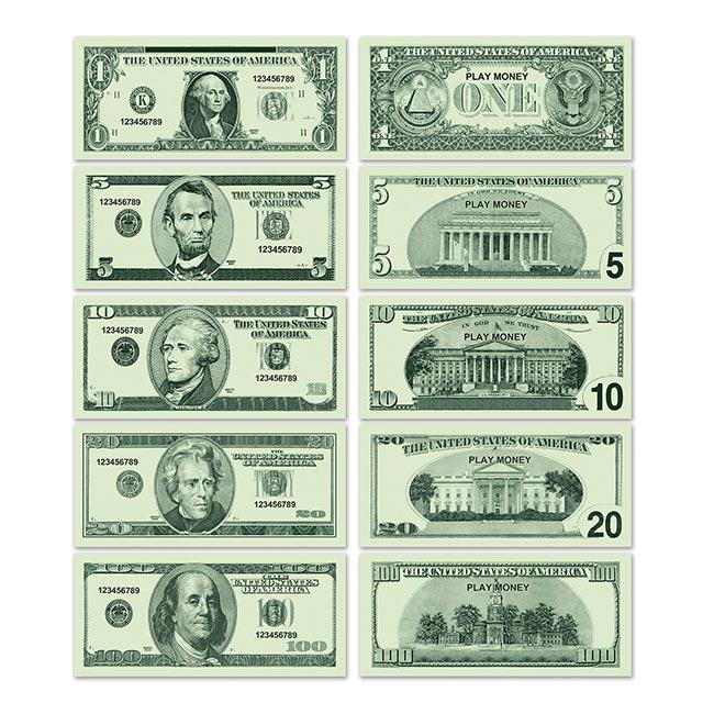 spielgeld dollarscheine 100er pack g nstig kaufen bei. Black Bedroom Furniture Sets. Home Design Ideas