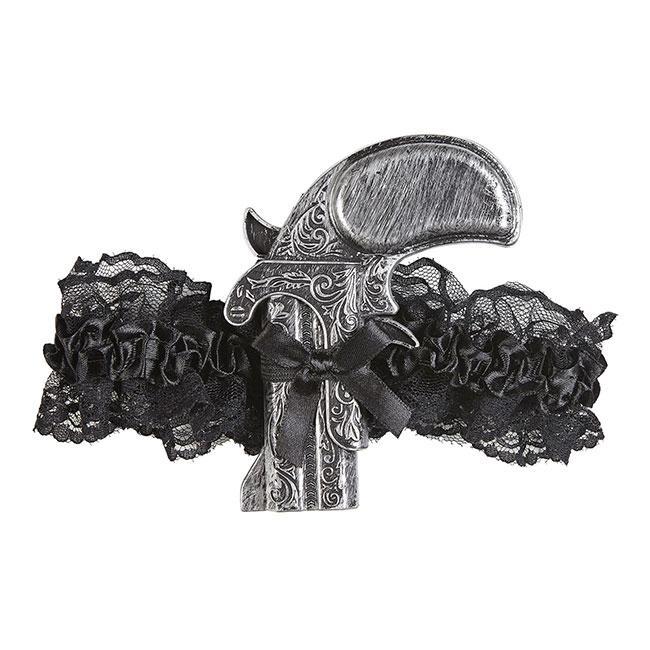 Strumpfband mit Pistole Steampunk Accessoires Accessoires