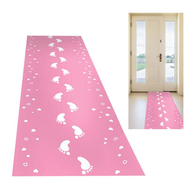 teppich l ufer niedliche f e 50 x 250 cm rosa g nstig kaufen bei