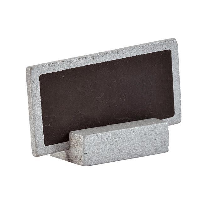 tisch oder namenskarte tafel 6er pack silber g nstig. Black Bedroom Furniture Sets. Home Design Ideas