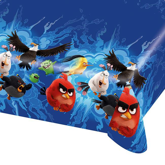 tischdecke angry birds der film 180 x 120 cm g nstig kaufen bei. Black Bedroom Furniture Sets. Home Design Ideas