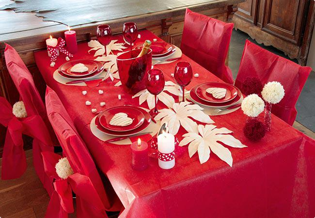 tischdecke deko vlies edle tafel 1 5 x 3 m rot g nstig kaufen bei. Black Bedroom Furniture Sets. Home Design Ideas