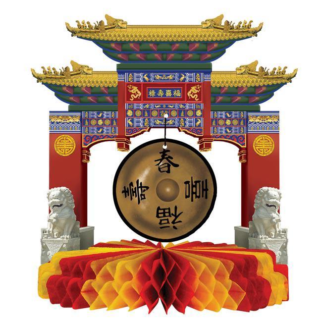 tischdeko asiatischer tempel 18 cm g nstig kaufen bei. Black Bedroom Furniture Sets. Home Design Ideas