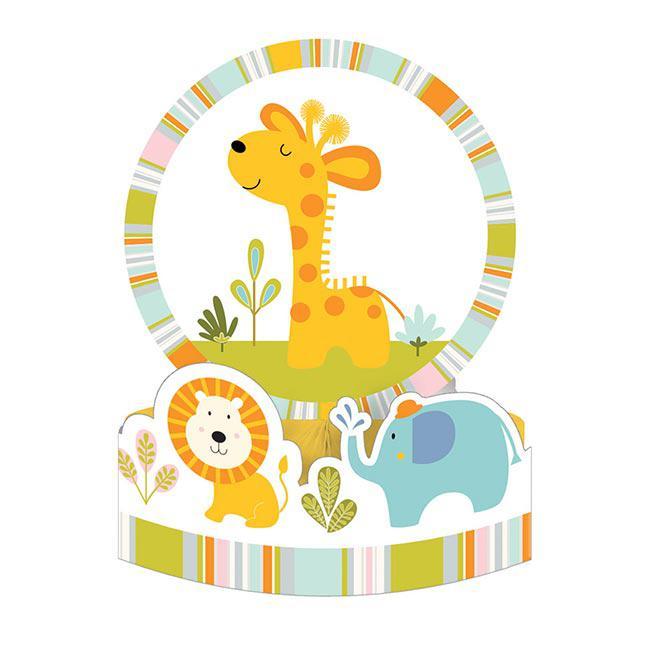 Tischdeko Babys Wilde Dschungel Party 30 Cm Gunstig Kaufen Bei