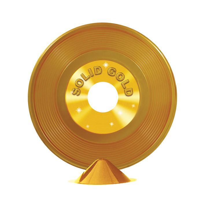 Tischdeko Goldene Schallplatte 23 Cm Günstig Kaufen Bei