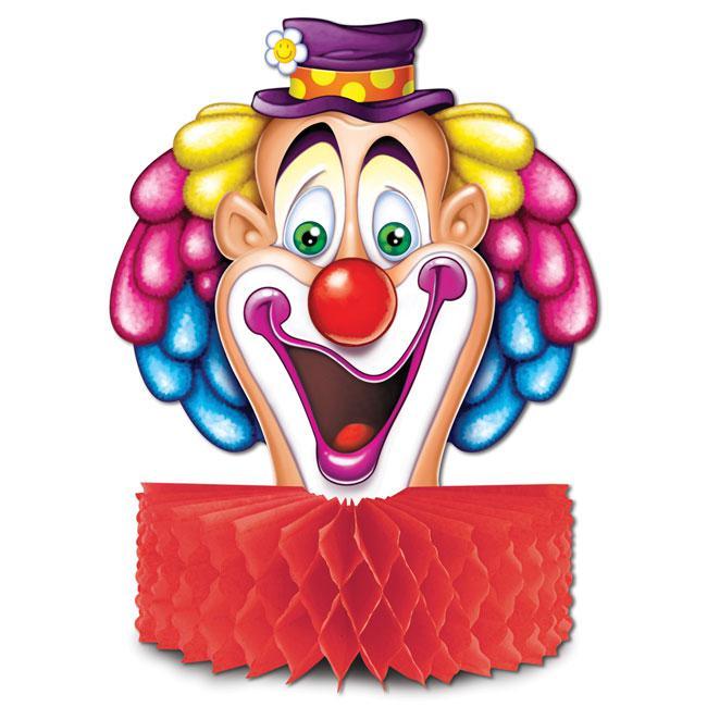 Tischdeko Lustiger Clown 25 Cm Gunstig Kaufen Bei Partydeko De