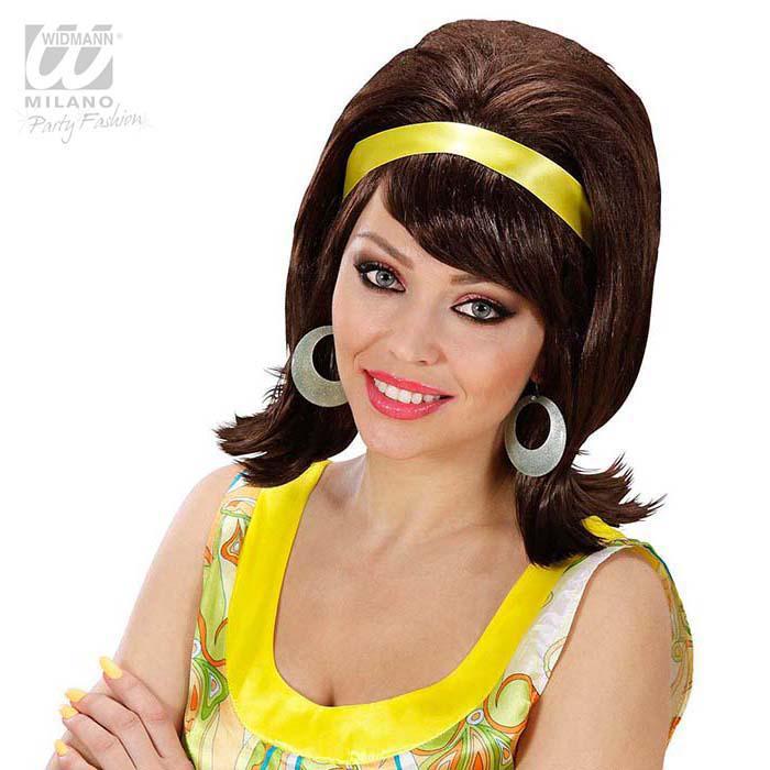 Toupierte Perücke Mit Haarband Günstig Kaufen Bei Partydekode