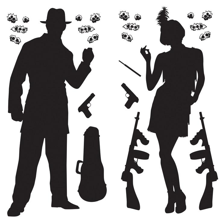 Pics Photos Gangster Silhouettes 5