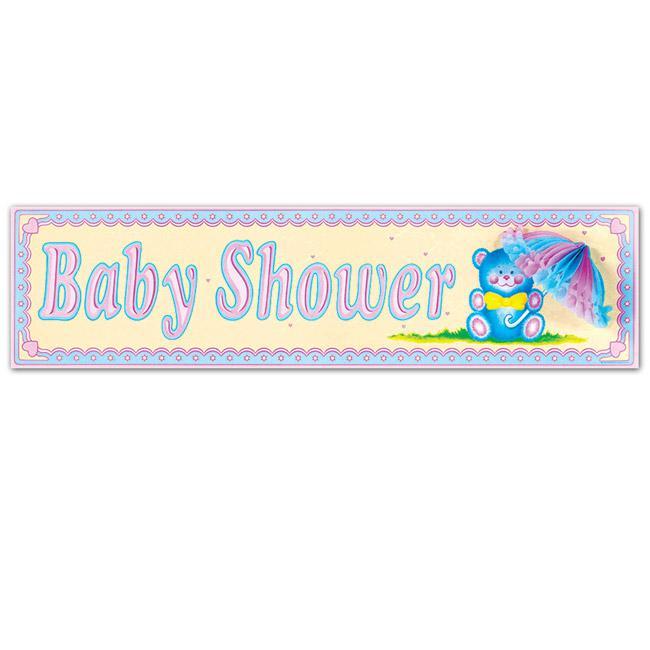 Wanddeko baby shower 79 cm g nstig kaufen bei for Wanddeko baby