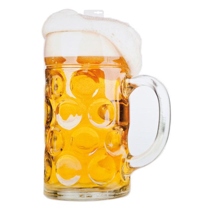 Xl Wanddeko Mass Bier 75 Cm Gunstig Kaufen Bei Partydeko De