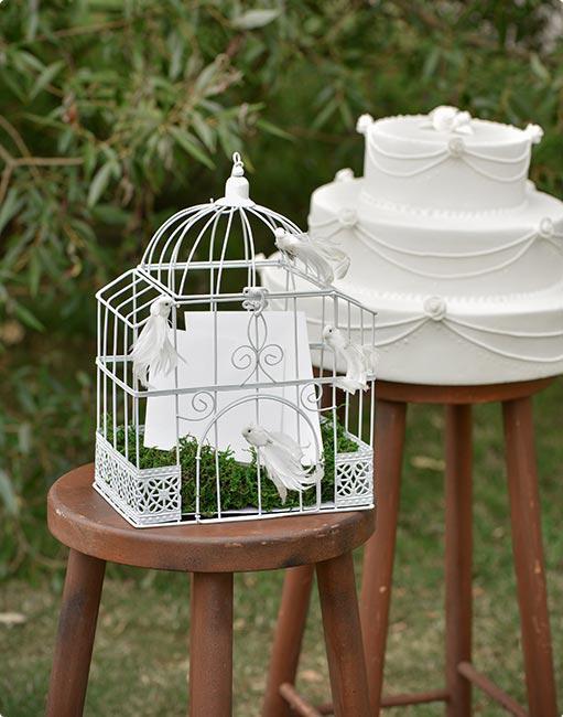 wei er deko vogelk fig 30 cm g nstig kaufen bei. Black Bedroom Furniture Sets. Home Design Ideas