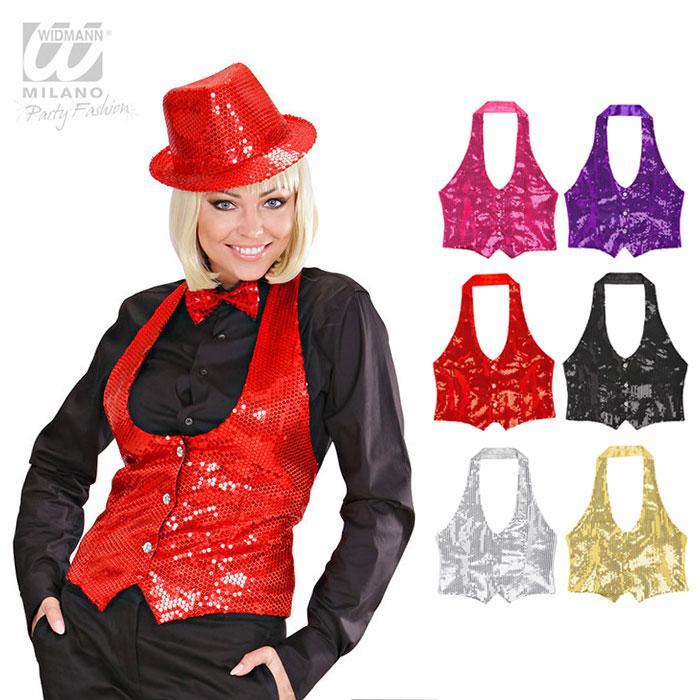 Weste Glitzer Und Glamour Für Frauen Günstig Kaufen Bei Partydekode