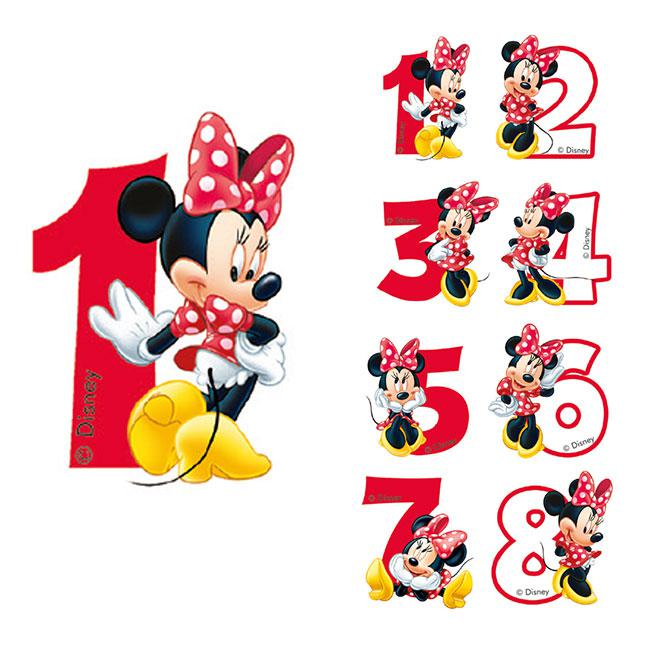 disney minnie maus kerzen happy birthday von 14 st ck. Black Bedroom Furniture Sets. Home Design Ideas