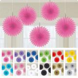 Deckendeko Blüte aus Wabenpapier 15 cm 5er Pack