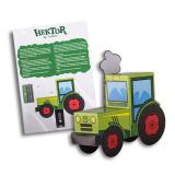 "3D Bastelbogen ""Hektor der Traktor"""