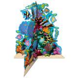 """3D Tischdeko """"Unter dem Meer"""" 25 cm"""