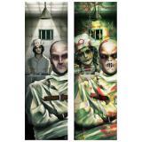"""3D-Wanddeko """"Horror Anstalt"""" 30,5 x 95,9 cm"""