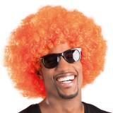 Afro Perücke-orange