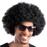 Afro Perücke-schwarz