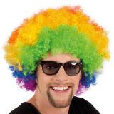 Afro Perücke Rainbow