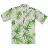 Original Hawaiihemd Aloha Palm Leaf