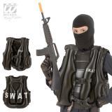 Aufblasbare SWAT -Weste für Kinder