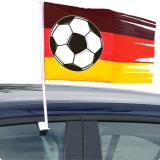 """Autofahne""""Fußball Deutschland"""" 45 cm"""