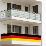 Balkonschmuck Deutschland 0,8 m x 5 m