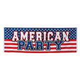 "Banner ""American Party"" 220 cm"