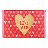 "Banner ""Love you"" 90 cm"