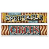 """Banner """"Spektakuläre Zirkuswelt"""" 2-tlg."""