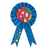 Blauer Rosetten-Orden 60. Geburtstag