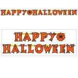 """Buchstaben-Girlande """"Happy Halloween"""" 2,39 m"""