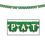 """Buchstaben-Girlande """"Happy St. Patrick's Day"""" 2,1 m"""