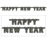 """Buchstaben-Girlande """"New Year Celebration"""" 180 cm"""