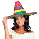"""Bunt-gestreifter Sombrero """"Mexikana"""""""