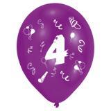 """Bunte Luftballons """"Geburtstagsspaß"""" 8er Pack-4"""