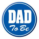 "Button ""Dad to be"" 9 cm"