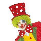 Clowns-Hut mit Punkten