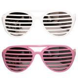Coole Partybrille mit Lamellen