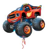 "Cooler Folienballon ""Monster Truck Blaze"" 86 cm"