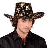 Cowboyhut Piraten-Totenkopf