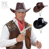 Cowboy-Hut aus Kunstleder Unisex