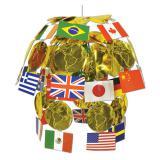"Deckenhänger ""Internationale Flaggen"" 61 cm"