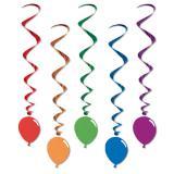 """Deckenhänger """"Luftballons"""" 5er Pack"""
