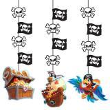 """Deckenhänger """"Piraten auf großer Fahrt"""" 3er Pack"""