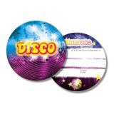 """Einladungskarten """"Lila Discokugel"""" 6er Pack"""